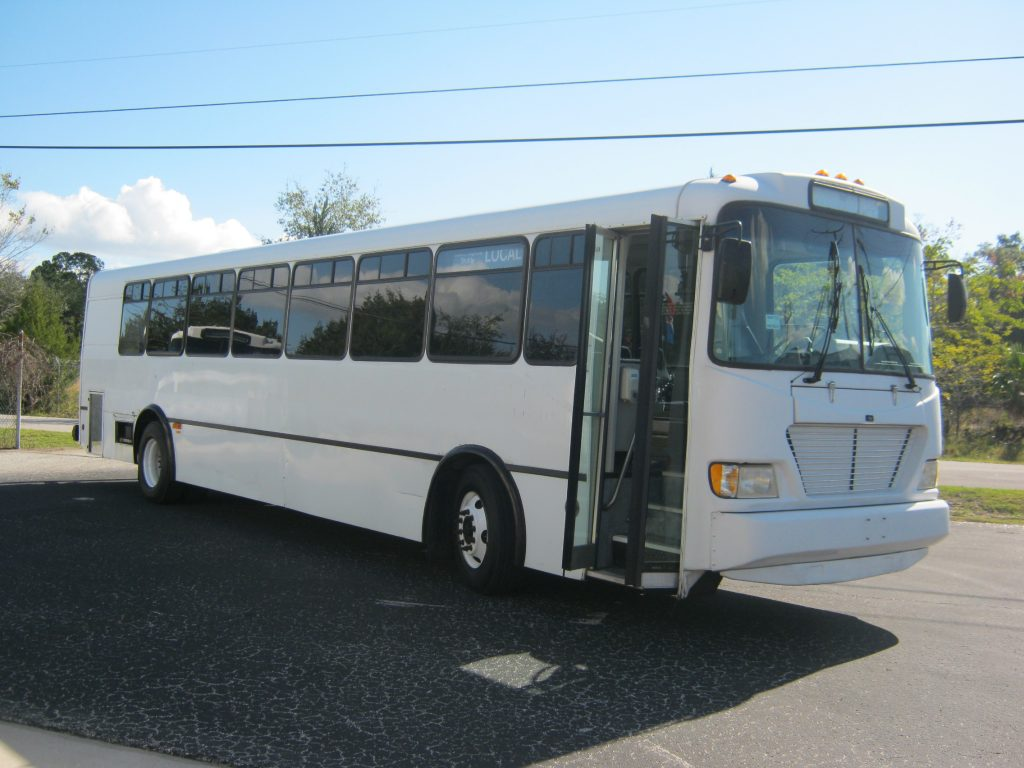 Freightliner 45 passenger charter shuttle coach bus for sale - Diesel