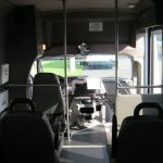 Ford E350 6 passenger charter shuttle coach bus for sale - Gas 6