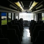 Freightliner 31 passenger charter shuttle coach bus for sale - Diesel 7