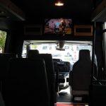Ford E350 13 passenger charter shuttle coach bus for sale - Gas 7