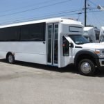 Ford F550 29 passenger charter shuttle coach bus for sale - Diesel 1