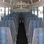 Ford F550 29 passenger charter shuttle coach bus for sale - Diesel 4