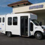 Ford E350 6 passenger charter shuttle coach bus for sale - Gas 1
