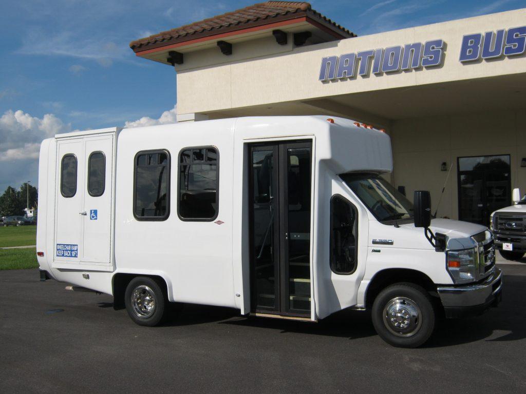 Ford E350 6 passenger charter shuttle coach bus for sale - Gas