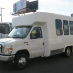 Ford E350 6 passenger charter shuttle coach bus for sale - Gas 3