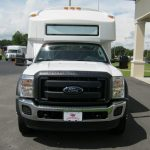 Ford F550 30 passenger charter shuttle coach bus for sale - Gas 2