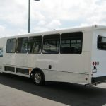 Ford F550 30 passenger charter shuttle coach bus for sale - Gas 3