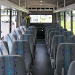 Ford F550 30 passenger charter shuttle coach bus for sale - Gas 6