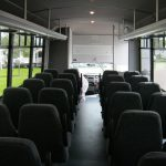 Ford F550 30 passenger charter shuttle coach bus for sale - Gas 8