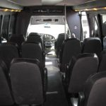 Ford E450 15 passenger charter shuttle coach bus for sale - Gas 7