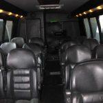 Ford E450 15 passenger charter shuttle coach bus for sale - Gas 6
