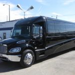 Freightliner M2 43 passenger charter shuttle coach bus for sale - Diesel 5