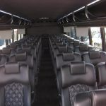 Freightliner M2 43 passenger charter shuttle coach bus for sale - Diesel 6