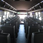Freightliner M2 43 passenger charter shuttle coach bus for sale - Diesel 7