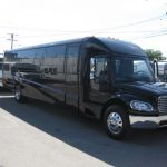 Freightliner M2 43 passenger charter shuttle coach bus for sale - Diesel 1