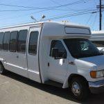 Ford E450 15 passenger charter shuttle coach bus for sale - Gas 1