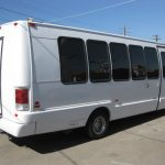 Ford E450 15 passenger charter shuttle coach bus for sale - Gas 4