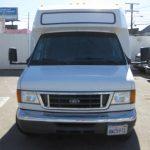 Ford E450 15 passenger charter shuttle coach bus for sale - Gas 2