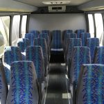 Ford E450 24 passenger charter shuttle coach bus for sale - Diesel 5