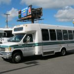 Ford E450 20 passenger charter shuttle coach bus for sale - Gas 3