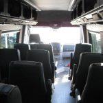 Mercedes 3500 16 passenger charter shuttle coach bus for sale - Diesel 7