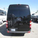Mercedes 3500 16 passenger charter shuttle coach bus for sale - Diesel 4