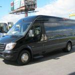Mercedes 3500 16 passenger charter shuttle coach bus for sale - Diesel 2