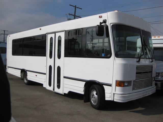 Freightliner 29 passenger charter shuttle coach bus for sale - Diesel