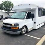 Chevy GMT-610 10 passenger charter shuttle coach bus for sale - Diesel 3