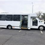 Chevy GMT-610 10 passenger charter shuttle coach bus for sale - Diesel 2