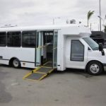 Chevy GMT-610 10 passenger charter shuttle coach bus for sale - Diesel 4