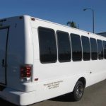 Ford F550 32 passenger charter shuttle coach bus for sale - Diesel 4
