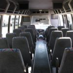 Ford F550 32 passenger charter shuttle coach bus for sale - Diesel 7