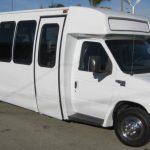 Ford E450 26 passenger charter shuttle coach bus for sale - Diesel 1