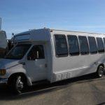 Ford E450 26 passenger charter shuttle coach bus for sale - Diesel 4