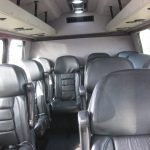 Ford E350 13 passenger charter shuttle coach bus for sale - Gas 5