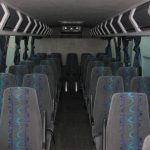 Ford F650 34 passenger charter shuttle coach bus for sale - Diesel 6