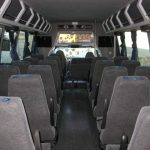 Ford F650 34 passenger charter shuttle coach bus for sale - Diesel 7