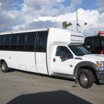Ford F550 31 passenger charter shuttle coach bus for sale - Diesel 1
