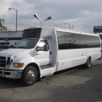 Ford F650 34 passenger charter shuttle coach bus for sale - Diesel 2