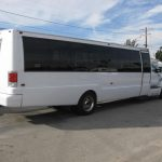 Ford F650 34 passenger charter shuttle coach bus for sale - Diesel 4