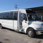 International 32 passenger charter shuttle coach bus for sale - Diesel 1