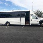 Ford F550 28 passenger charter shuttle coach bus for sale - Diesel 3