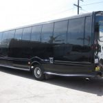 Chevy C5500 37 passenger charter shuttle coach bus for sale - Diesel 3