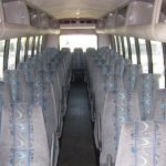 Chevy C5500 37 passenger charter shuttle coach bus for sale - Diesel 5