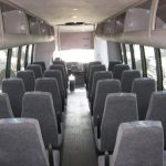 Chevy C5500 37 passenger charter shuttle coach bus for sale - Diesel 6