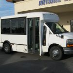 Chevy C3500 8 passenger charter shuttle coach bus for sale - Gas 1