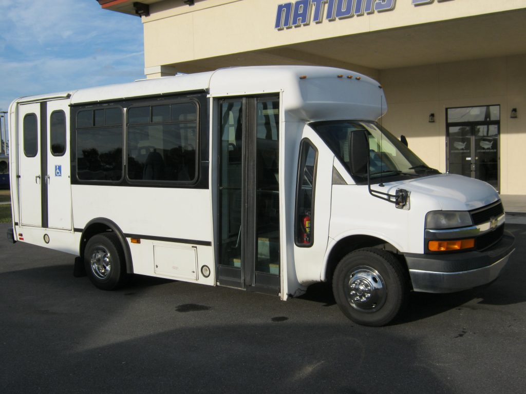 Chevy C3500 8 passenger charter shuttle coach bus for sale - Gas
