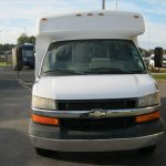 Chevy C3500 8 passenger charter shuttle coach bus for sale - Gas 3