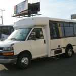 Chevy C3500 8 passenger charter shuttle coach bus for sale - Gas 2